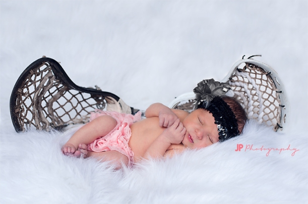 Newborn Lacrosse Tacoma Photo