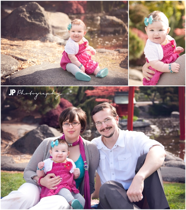 6 month children family puyallup photo
